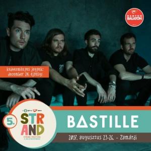 Bastille koncert 2019-ben a Strand Fesztiválon - Jegyek itt!