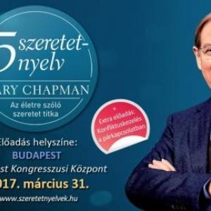 Gary Chapman Budapesten 2017-ben - Jegyek a Az 5 szeretetnyelv előadásra itt!