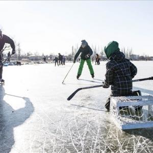 Ingyenes jégpálya várja az Agárdi Popstrandon a hétvégén a korcsolyázókat