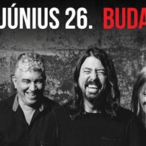 Foo Fighters koncert 2017-ben Budapesten az Arénában!