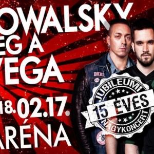 Kowalsky meg a Vega koncert 2018-ban a Budapest Arénában - Jegyek itt!
