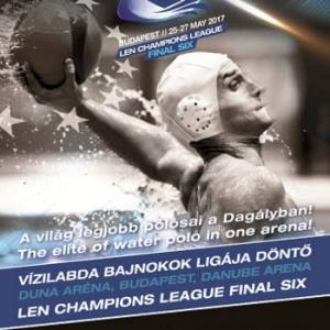Vízilabda Férfi Bajnokok Ligája Final Six 2017-ben Budapesten - NYERJ JEGYET!