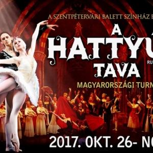 Szentpétervári Balett Színház Hattyúk tava balett turné 2017 - Jegyek és helyszínek!