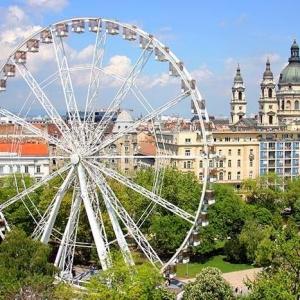 Adventkor is forog a Budapest Eye! Jegyek és nyitvatartás itt! Próbáld ki ingyen!