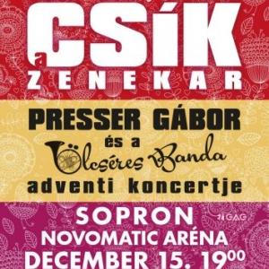 Csík zenekar koncert Sopronban a Novomatic Arénában - Jegyek itt!