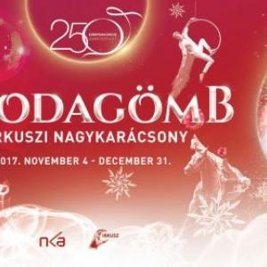 Csodagömb a Fővárosi Nagycirkusz karácsonyi cirkuszi előadása - Jegyek itt!