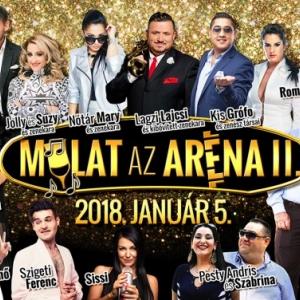 Mulat az Aréna 2018-ban Budapesten a Papp László Sportaréna - Jegyek és fellépők itt!