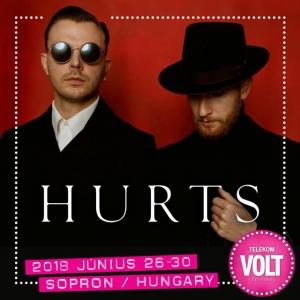 Hurts koncert 2018-ban Sopronban a VOLT Fesztiválon - Jegyek itt!