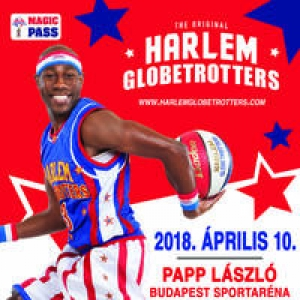 Harlem Globetrotters show Budapesten! Jegyek itt!