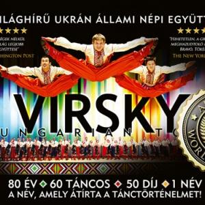 VIRSKY 2018-ban Szolnokon - Jegyek a VIRSKY táncegyüttes előadására itt!