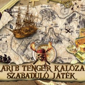 Karib tenger kalózai szabaduló játék Budapesten! Próbáld ki INGYEN!