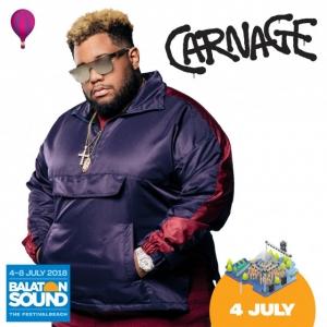 Carnage koncert a Balaton Soundon 2018-ban - Jegyek itt!