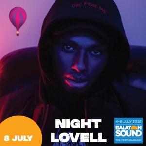 Night Lovell koncert a Balaton Soundon 2018-ban - Jegyek itt!