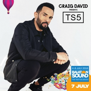 Craig David koncert 2018-ban a Balaton Soundon - Jegyek itt!