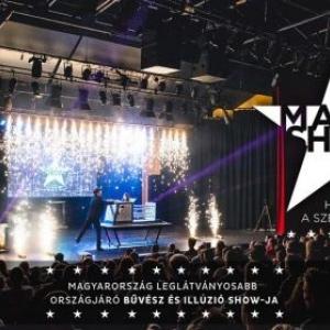 Magic Show turné 2019 - Jegyek itt! Bűvész show Baja, Kaposvár, Keszthely, Zalaegerszeg