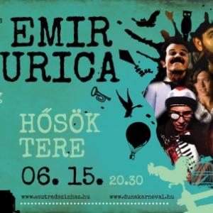 Emir Kusturica és a The No Smoking Orchestra koncert Budapesten a Hősök terén - Jegyek itt!