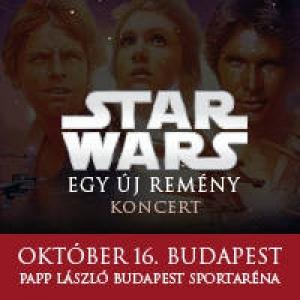 Star Wars Egy új remény koncert és film show 2018-ban az Arénánan! Jegyek a Star Wars koncertre itt!