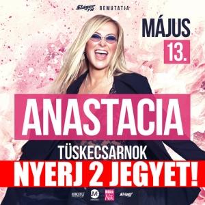 Anastacia koncert 2018-ban a Tüskecsarnokban! NYERJ 2 JEGYET!