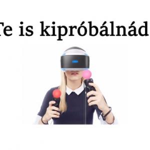 INGYEN VR-ezhetünk a VR hétvégén!