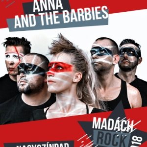 Anna and the Barbies koncert a Madách Színházban. Jegyárak és jegyvás