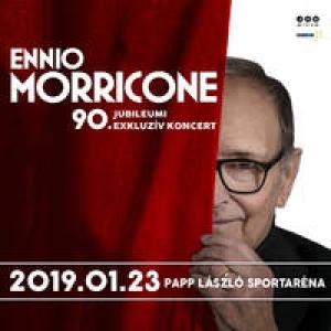 Ennio Morricone filmzenei koncert 2019-ben Budapesten az Arénában - Jegyek az Ennio 90 koncertre!