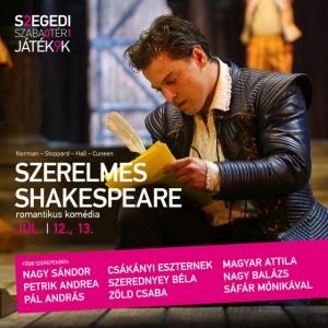 Szerelmes Shakespeare szegedi szereposztás és jegyek itt!