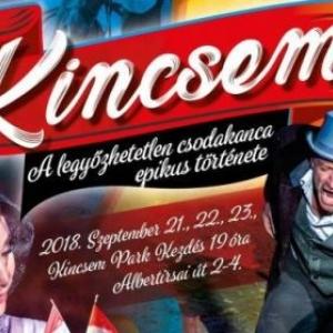 Kincsem musical Nyíregyházán a Timpex Arénában - Jegyek itt!