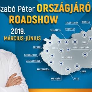 Szabó Péter Országjáró Roadshow 2019 - Turné állomások és jegyek itt!