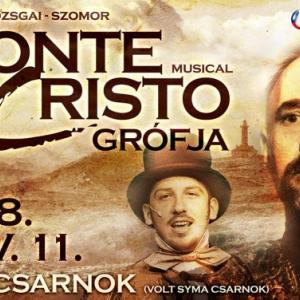 Monte Cristo grófja musical 2018-ban a Veszprém Arénában - Jegyek a veszprémi előadásra itt!