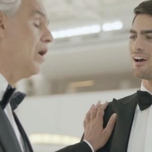 Andrea Bocelli fiával énekelt duettet! VIDEÓ ITT!