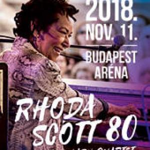 ÚJ időpontban kerül megrendezésre Rhoda Scott koncertje!