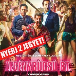 Legénybúcsú Bt. (Budapest) NYERJ 2 JEGYET A FILMRE!