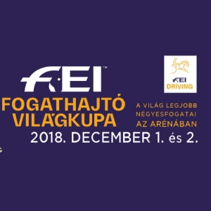 Fogathajtó Világkupa 2018-ban Budapesten az Arénában - Jegyek itt!