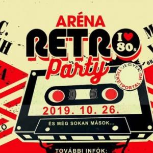 Retró party 2019-ben az Arénában Budapesten - Jegyek és fellépők itt!