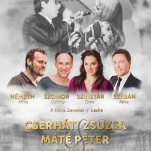 Cserháti Zsuzsa és Máté Péter emlékkoncert 2019-ben Budapesten - Jegyek itt!