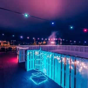 360 fokos panorámával megnyílt Budapest legmagasabb korcsolyapályája!