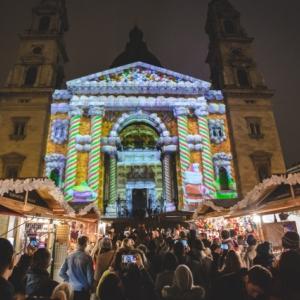 Ingyenes 3D fényfestés a Bazilikánál!