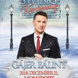 Gájer Bálint Swing Karácsony koncert Budapesten! Jegyek itt!