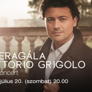 Vittorio Grigolo gálakoncert 2019-ben a Margitszigeten - Jegyek a margitszigeti operagálára itt!