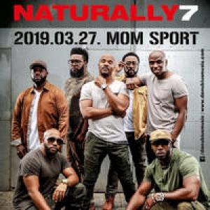 Naturally 7 koncert 2019-ben Budapesten a MOM Sportban - Jegyek itt!