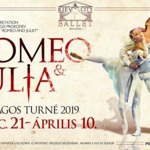 Kiev City Balett Rómeó és Júlia balett 2019-ben Debrecenben a Kölcsey Központban - Jegyek itt!