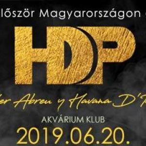 Alexander Abreu y Havana D'Primera koncert 2019-ben Magyarországon - Jegyek itt!