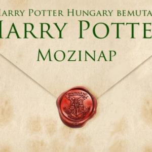 Harry Potter Mozinap 2019-ben Budapesten - Jegyek itt!
