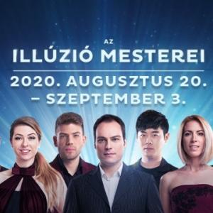 Az illúzió mesterei 2020-ban Budapesten a MOM Kultúrális Központban - Jegyek itt!
