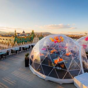 Buborékbár nyílt Budapest felett! Próbáld ki INGYEN!