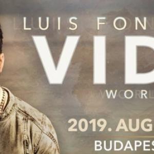 Luis Fonsi koncert 2019-ben Budapesten az Arénában - Jegyek itt!