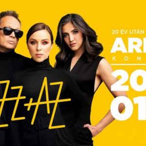 Jazz+Az koncert Aréna koncert 2020-ban Budapesten! Jegyek itt!