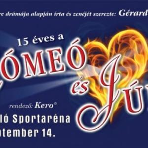 VÁLTOZÁS! A Rómeó és Júlia musicalt új időpontban tartják meg!
