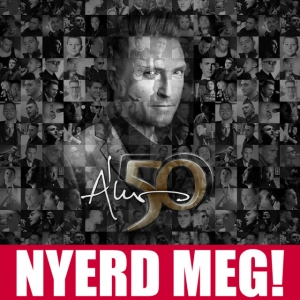 ÁKOS 50 CD és DVD jelent meg!