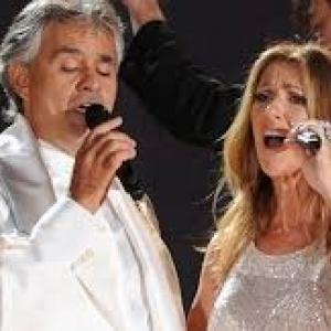 Így szól Celine Dion és Andrea Bocelli duettje - VIDEÓ!